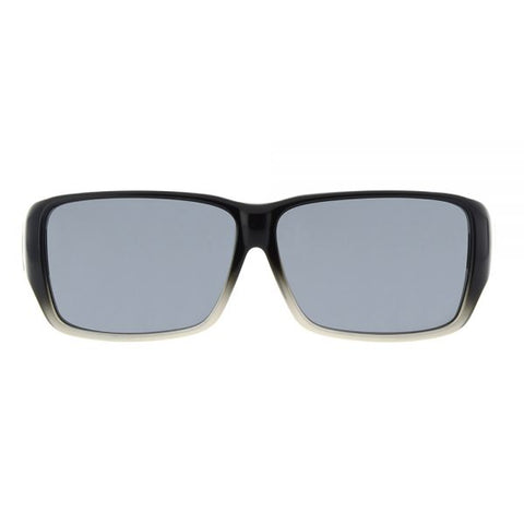 Jonathan Paul Fitovers - Oogee Black Fade Fitover Sunglasses / Polarvue Gray Lenses