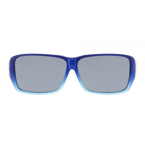 Jonathan Paul Fitovers - Oogee Blue Ombre Fitover Sunglasses / Polarvue Gray Lenses