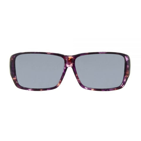 Jonathan Paul Fitovers - Oogee Grape Fitover Sunglasses / Polarvue Gray Lenses