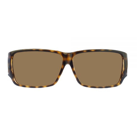Jonathan Paul Fitovers - Orion Cheetah Fitover Sunglasses / Polarvue Amber Lenses