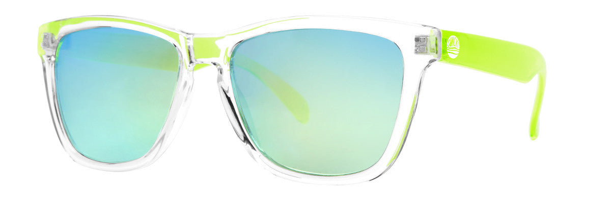 Sunski Originals Lime Sunglasses, Polarized Lenses