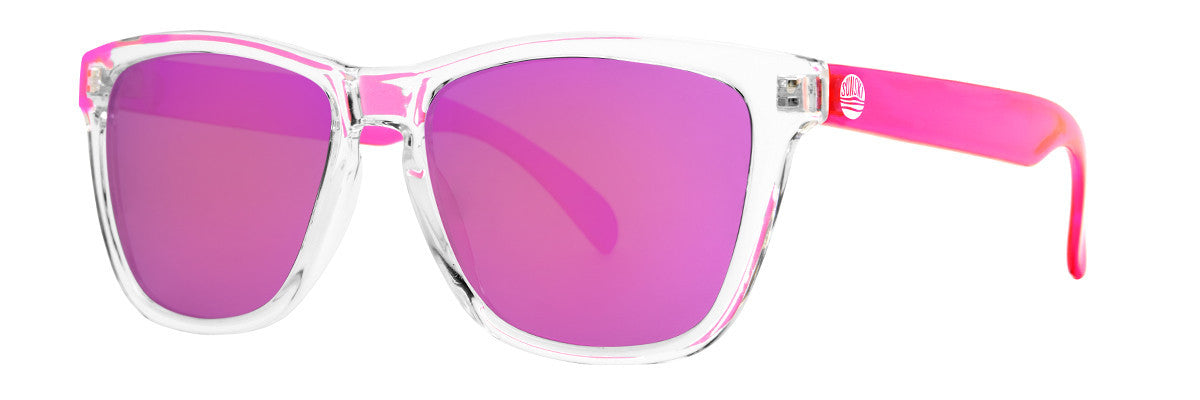 Sunski Originals Pink Sunglasses, Polarized Lenses