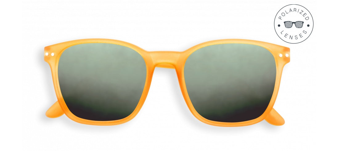 Izipizi - Nautic Yellow Sunglasses / Green Polarized Lenses