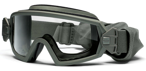 Smith - Outside The Wire Foliage Green Tactical Goggles / Field Kit Clear Mil Spec Lenses