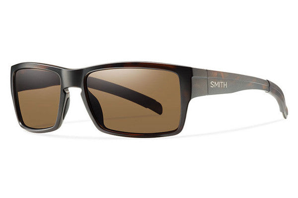 Smith Outlier Matte Tortoise Sunglasses, Brown Polarized Lenses