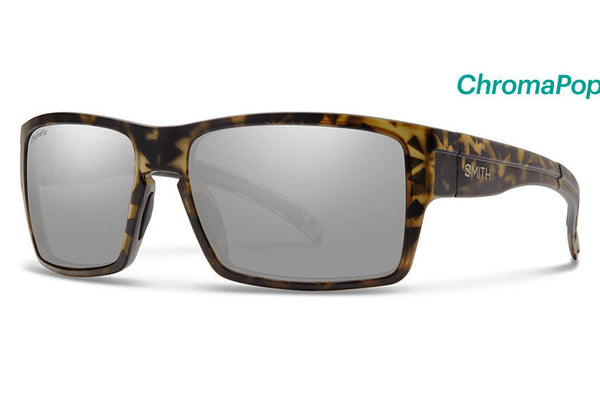 Smith - Outlier XL Matte Camo Sunglasses, ChromaPop Polarized Platinum Lenses