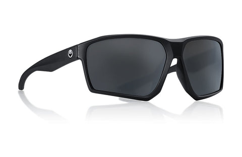 Dragon - Tenzig Matte Black Sunglasses / Smoke Lenses