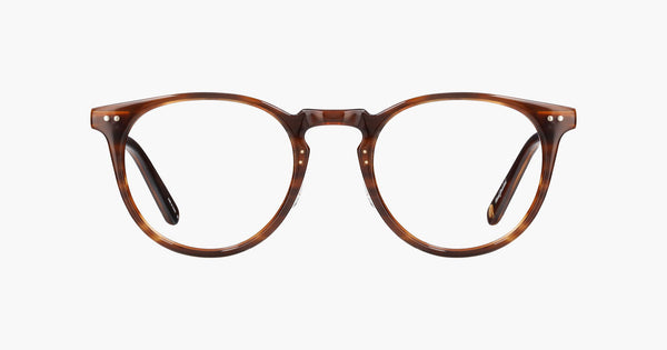 Garrett Leight - Ocean Brandy Tortoise Brushed Gold Eyeglasses / Demo Lenses