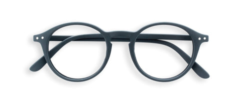 Izipizi - #D Grey Reader Eyeglasses / +2.00 Lenses
