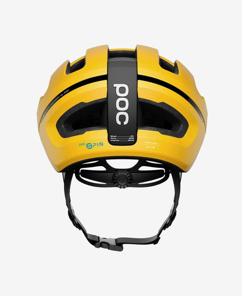 POC - OMNE AIR SPIN Medium Sulphite Yellow Bike Helmet