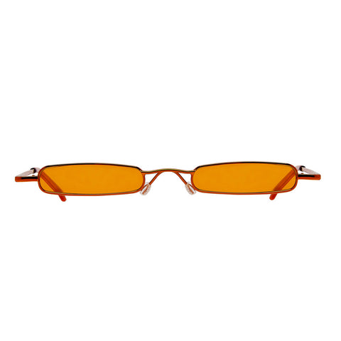 Christianah Jones - Aaliyah Orange Sunglasses / Orange Lenses