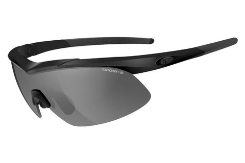 Tifosi - Tyrant 2.0 Matte Black Sunglasses, Interchangeable AC Red / Clear / Smoke Lenses