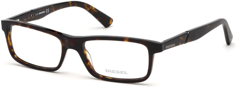 Diesel - DL5292 Dark Havana Eyeglasses / Demo Lenses