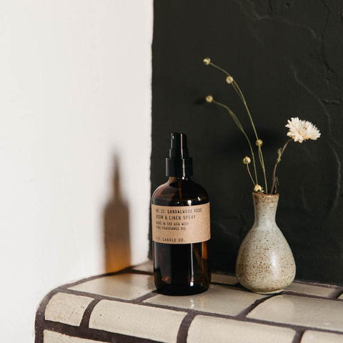 P.F. Candle Co. - Sandalwood Rose Room and Linen Spray