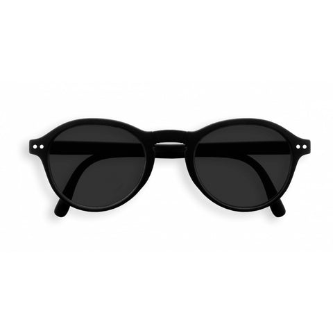 Izipizi - #F Black Folding Sunglasses / Grey Lenses