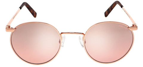 Randolph - P3 51mm 22K Rose Gold Skull Temple Sunglasses / SkyForce Air Harvest Lenses