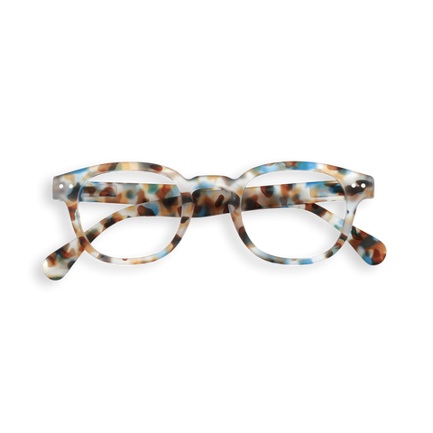 Izipizi - #C Blue Tortoise Junior Eyeglasses / Screen Blue Light Clear Lenses