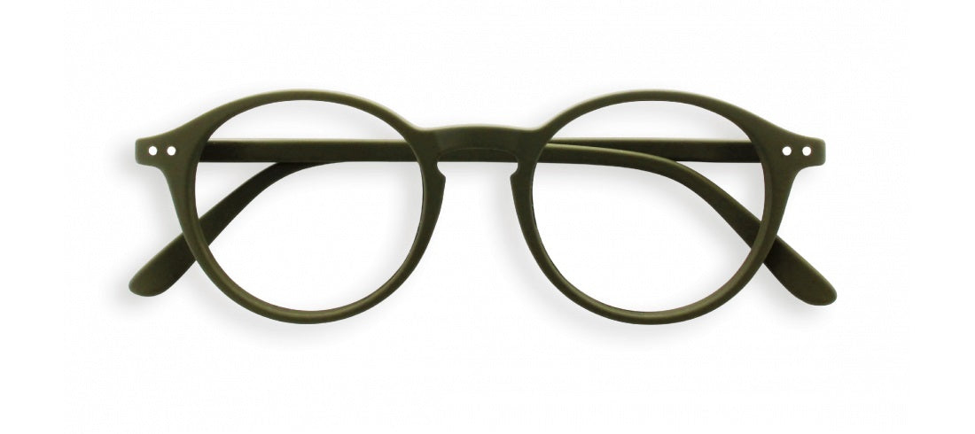 Izipizi - #D Kaki Green Reader Eyeglasses / +1.50 Lenses