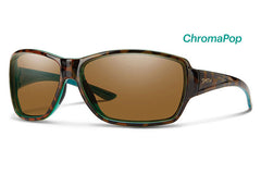 Smith - Pace Tort Marine Sunglasses, ChromaPop Polarized Brown Lenses