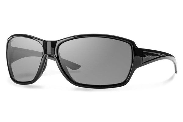 Smith - Pace Black Sunglasses, Gray Polarized Lenses