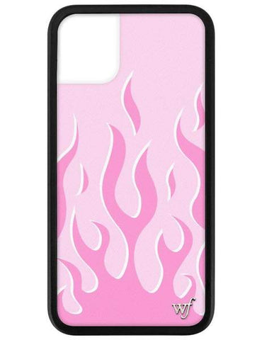 Wildflower - Pink Flames 11 Phone Case