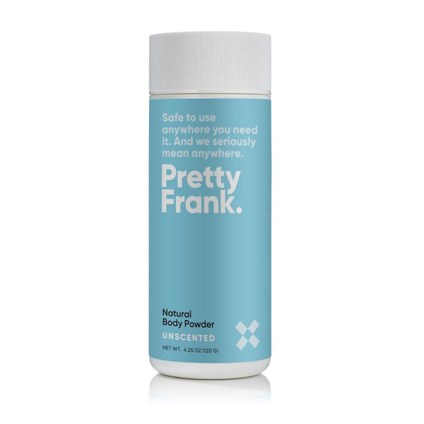 Pretty Frank - Unscented 4.25oz Body Powder