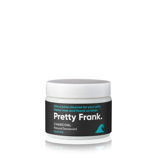 Pretty Frank - Seaside Activated Charcoal 2oz Jar  Deodorant