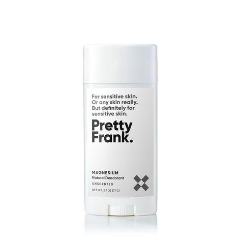 Pretty Frank - Unscented Magnesium 2.7oz Stick Deodorant
