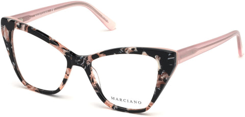 Marciano - GM0328 Havana Eyeglasses / Demo Lenses