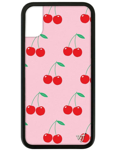 Wildflower - Pink Cherries iPhone XR Case