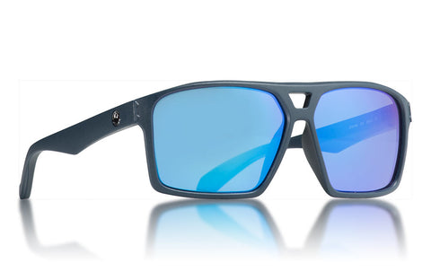 Dragon - Channel Matte Deep Navy Sunglasses / Blue Ion Lenses
