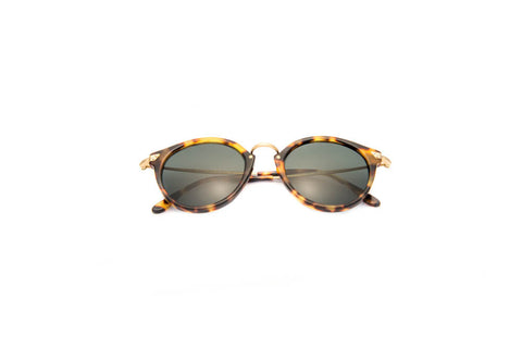 Kyme Pin Yellow Tortoise Sunglasses