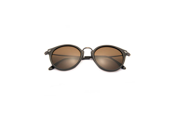 Kyme - Pin Black Brown Sunglasses