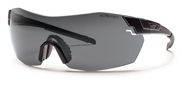 Smith - Pivlock V2 Max Tactical Black Sunglasses, Field Kit - Gray Mil-Spec Installed Lenses