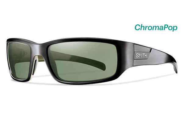 Smith - Prospect Black Sunglasses, ChromaPop Polarized Gray Green Lenses