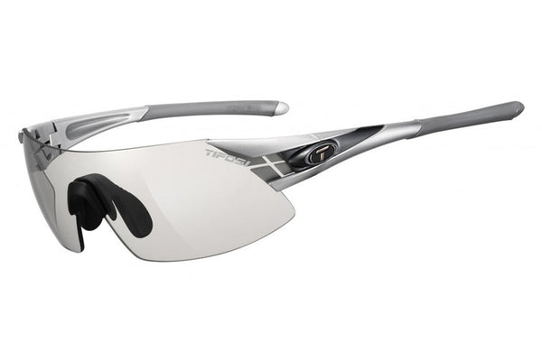 Tifosi - Podium XC Asian Fit Silver / Gunmetal Sunglasses, Light Night Fototec Lenses