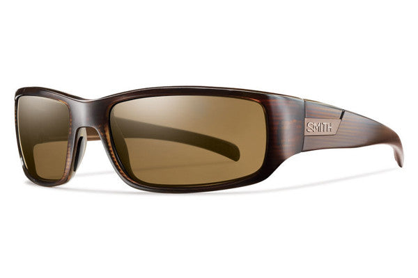 Smith Prospect Brown Stripe Sunglasses, Polarized Brown Lenses