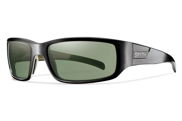 Smith - Prospect Black Sunglasses, Polarized Gray Green Lenses