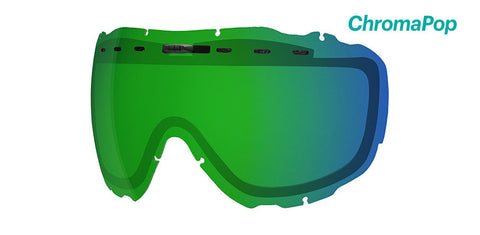 Smith - Prophecy OTG Chromapop Everyday Green Mirror Snow Goggle Replacement Lens
