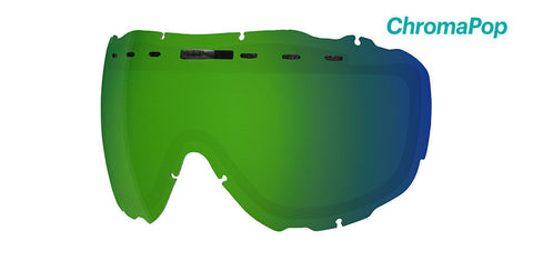 Smith - Prophecy OTG Chromapop Sun Green Mirror Snow Goggle Replacement Lens