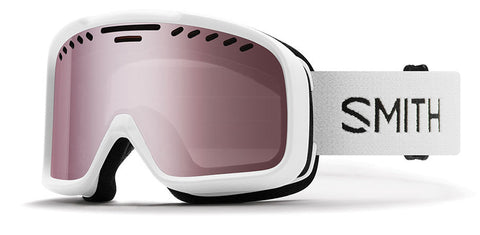 Smith - Project White Snow Goggles / Ignitor Mirror Lenses