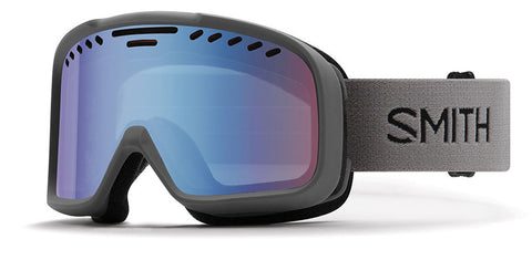 Smith - Project Charcoal Snow Goggles / Blue Sensor Mirror Lenses