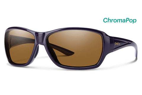 Smith - Purist Black Cherry Sunglasses, ChromaPop Polarized Brown Lenses