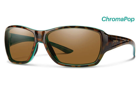 Smith - Purist Tort Marine Sunglasses, ChromaPop Polarized Brown Lenses
