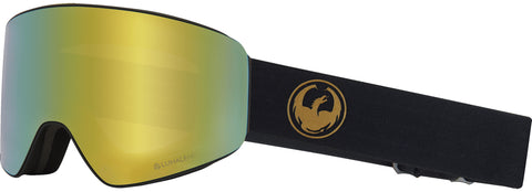 Dragon - PXV Gold Snow Goggles / Gold Ion + Amber Lenses