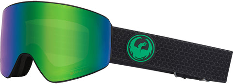Dragon - PXV Split Snow Goggles / Green Ion + Amber Lenses