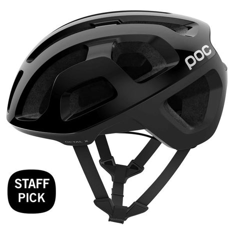 POC - Octal X Spin Medium Uranium Black Bike Helmet