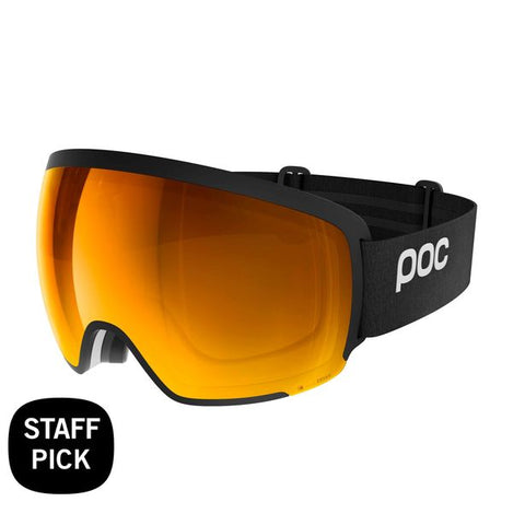 POC - Orb Clarity Uranium Black Snow Goggles / Spektris Orange Lenses