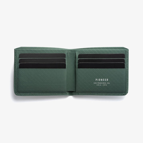 PIONEER - Division Billfold Evergreen Wallet