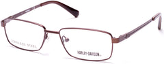Harley-Davidson - HD0134T Matte Dark Brown Eyeglasses / Demo Lenses